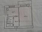 1-но комнатная чешка на 129 квартале ул.Кропивницкого