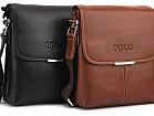 Мужская сумка polo барсетка сумочка клатч черный коричневый