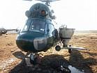 Вертолет и самолет для внесения аммиачной селитры