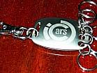 Оригинальный брелок для ключей.