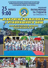 Городские соревнования по рукопашному бою