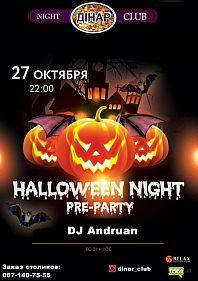 Halloween Night Pre-Party