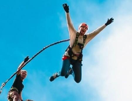 Rope jumping с Красного моста