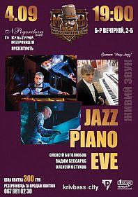 Jazz Piano Eve