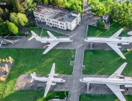 Экскурсия к самолетам
