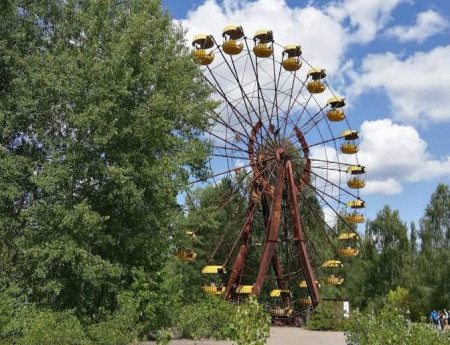 Экстрим тур в Чернобыль