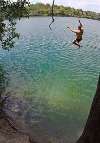 Экскурсия на голубое озеро Кривбасса