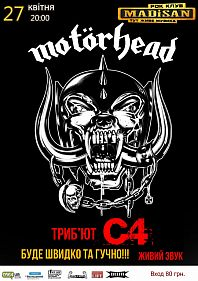 Motorhead cover show by C4