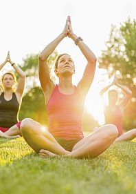 Жива йога у парку Гагаріна
