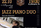 Jazz piano duo