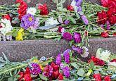 Покладання квітів до Дня перемоги над нацизмом