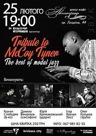 Tribute to McCoy Tyner