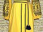 Длинное вышитое платье(вышиванка)
