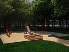 Детская игровая площадка 10х8м