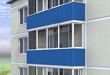 Обшивка балкона профнастилом обшить балкон профнастилом крив.