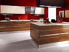 Кухни из Шпона | Кухня с Фасадом из Шпона | Купить Кухни из Шпона