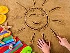 Рисование песком для детей от 4 до 10 лет