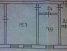 Продам 3-ёх комнатную квартиру на НКГОКе