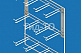 Торговый дисплей навесной секция 12 кронштейнов