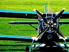 Внесение сыпучих минеральных удобрений вертолетом и кукурузником Ан-2
