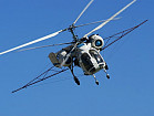 Склеивание стручков рапса - услуги вертолета