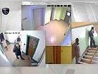 IP Видеонаблюдения на Лестничной Площадке | Видеонаблюдения за Лестничной Площадкой