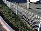Забор для дачи секционный из сварной сетки панельного типа Рубеж 3D