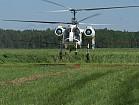 Опрыскивание подсолнечника вертолетами