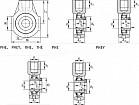 подшипниковые узлы, корпуса-натяжения
