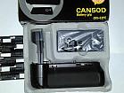 Canon 20d+обьектив+вспышка+сумка+батарейный блок+аксессуары
