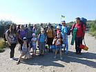 Отдых, туристический поход пеший в Николаевской области.