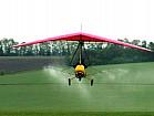 Авіахімобробка мотодельтапланом вертольотом