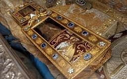 В Кривой Рог прибыл ковчег с мощами Иоанна Крестителя