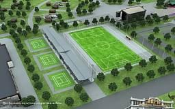 В парке им. Б.Хмельницкого построят новое футбольное поле