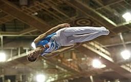 В Кривом Роге прошел чемпионат города по прыжкам на батуте и акробатической дорожке