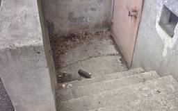 В Кривом Роге возле подъезда нашли противотанковый снаряд