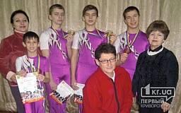 Криворожские акробаты стали бронзовыми призерами чемпионата Европы