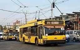 В Кривом Роге появятся новые белорусские троллейбусы