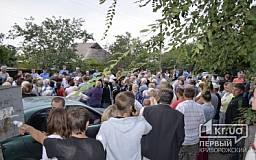 Начальство криворожской милиции вновь встретилось с жителями Черногорки