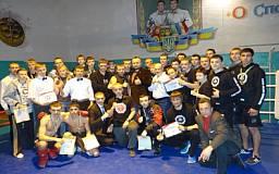 Триумф криворожских бойцов на Кубке Украины по ММА