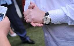 Ахметов является обладателем самых дорогих часов в Украине