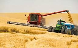 В Криворожском районе рекордный урожай зерновых