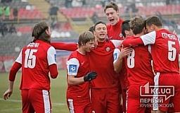«Кривбасс» обыгрывает львовские «Карпаты»