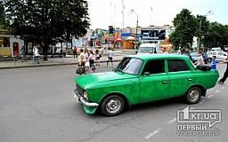 В Кривом Роге водитель «Москвича» сбил женщину на пешеходном переходе