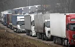 В Украине введут ограничение на движение большегрузных автомобилей