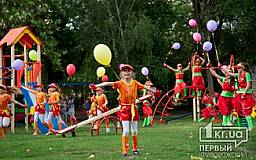 В Кривом Роге и области отремонтировали 1,6 тыс. детских площадок
