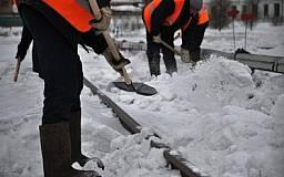 Криворожские предприниматели обязаны сами очищать снег