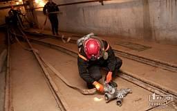 В Кривом Роге 17 горноспасателей доставали молодого горняка из-под завалов шахты