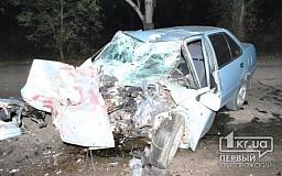 При въезде в Кривой Рог водитель на «Suzuki» влетел в «КрАЗ». Есть погибший (ОБНОВЛЕНО)