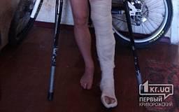 В Кривом Роге в маршрутке травмировался мужчина. Пострадавший разыскивает свидетелей случившегося